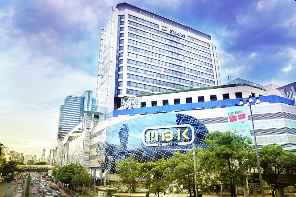 Mbk Center, Bangkok, Thailand, Building, Modern