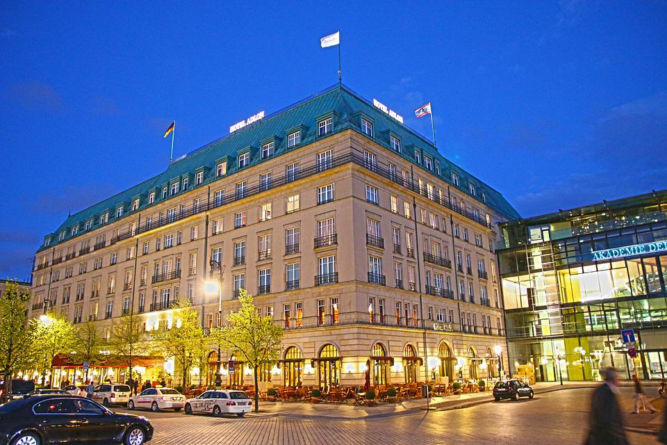 Adlon, Hotel, Berlin, Building, Places Of Interest