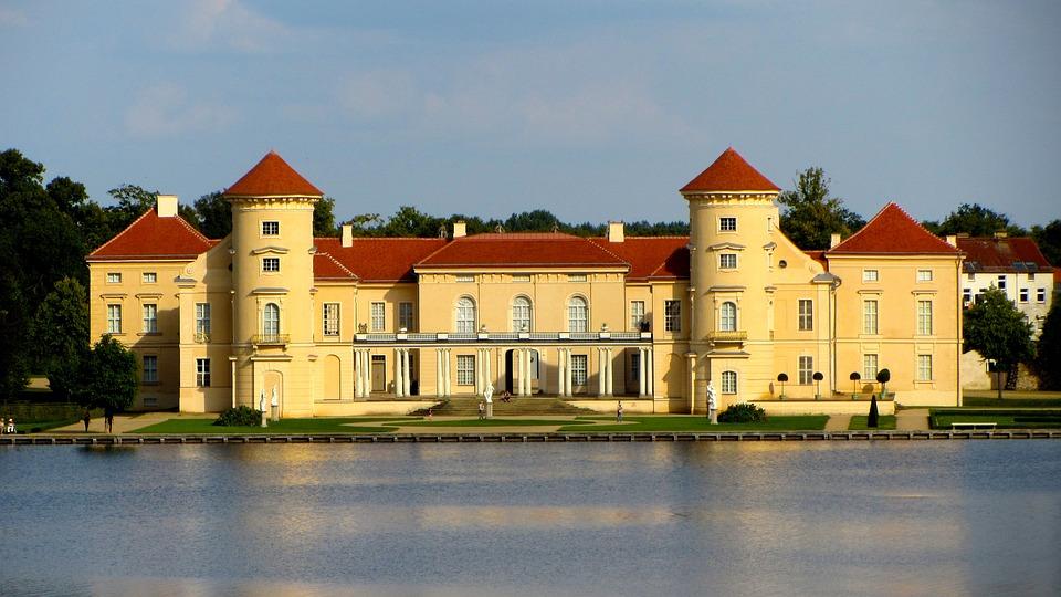 Castle, Rheinsberg, Brandenbrurg, Building