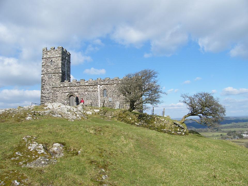 Church, Brentor, Dartmoor, Devon, Worship, Building