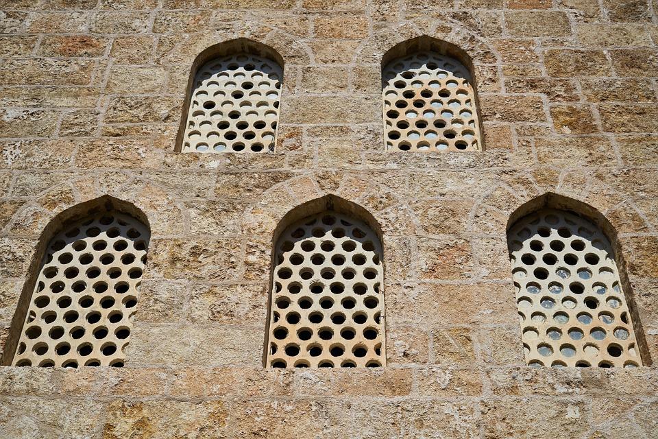Window, Old, Building, Brick, Stone, Concrete