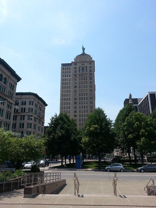 Buffalo, New York, Cityscape, Building, Skyscraper