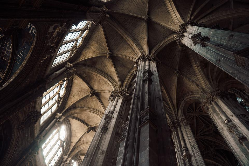 Abbey, Arches, Architecture, Building, Cathedral