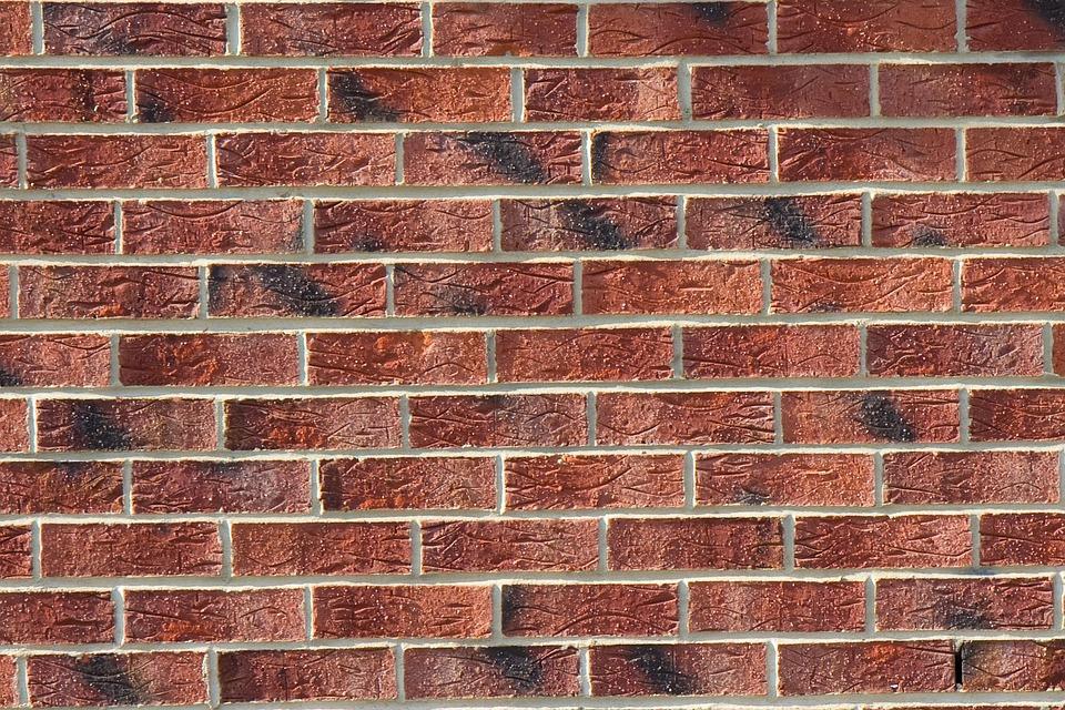 Brick, Wall, Building, Cement, Concrete, Construction