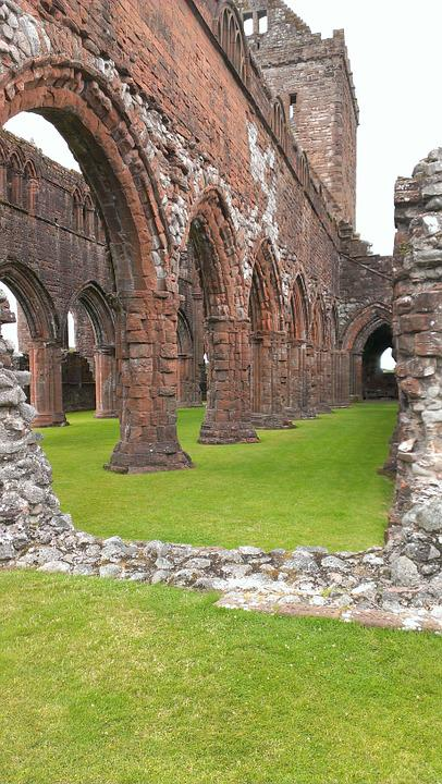 Ruin, Church Ruins, Gothic, Building, Church