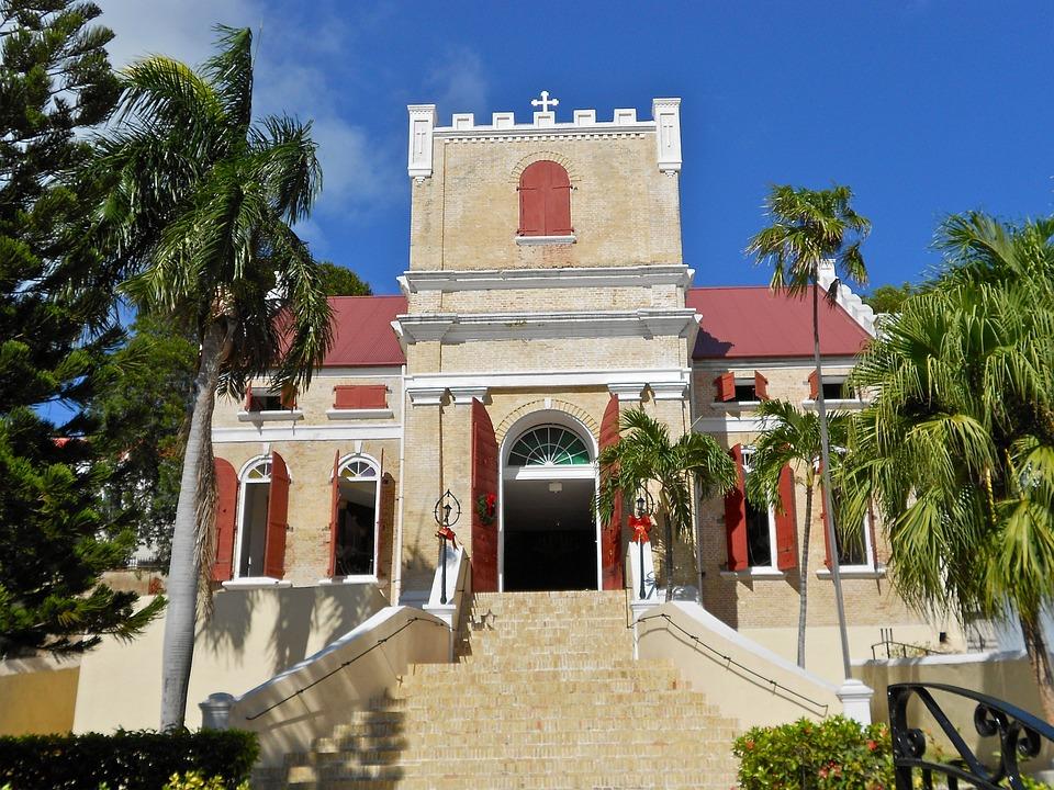 St Thomas, Virgin Islands, Church, Building