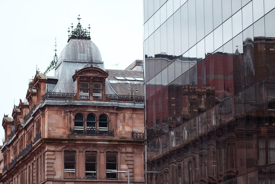 Architecture, Building, City, Old, Travel, Glasgow