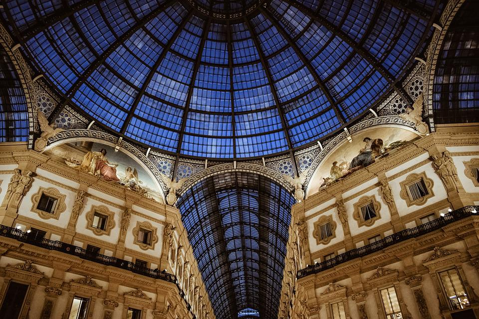 Roof, Glass, Architecture, Building, City, Dome