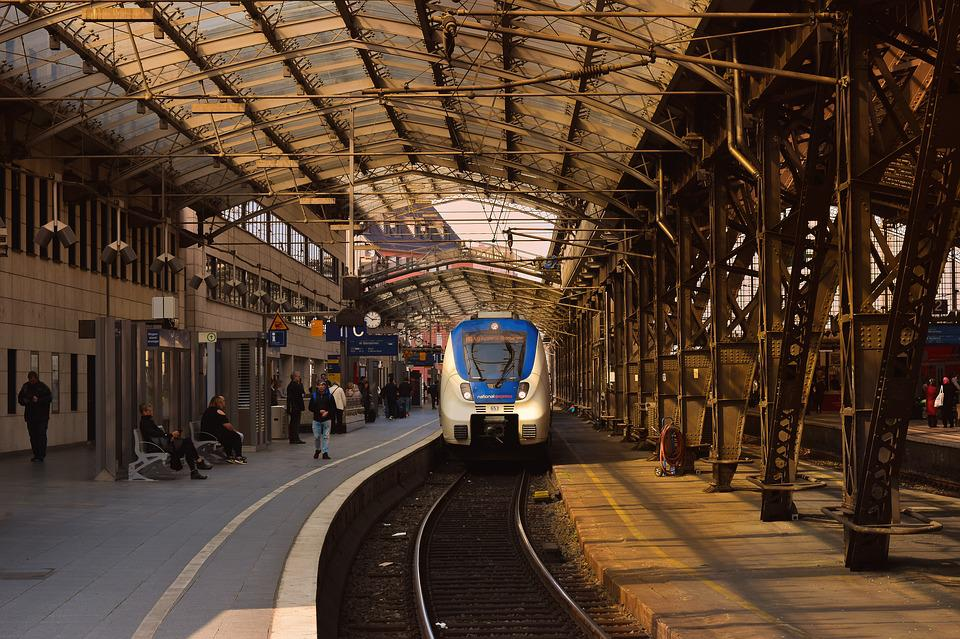 Architecture, Railway Station, Train, Building, City