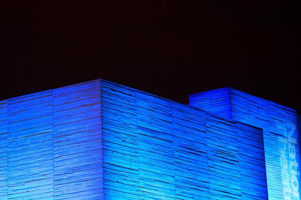 Architecture, Building, Concrete, Contemporary, Dark