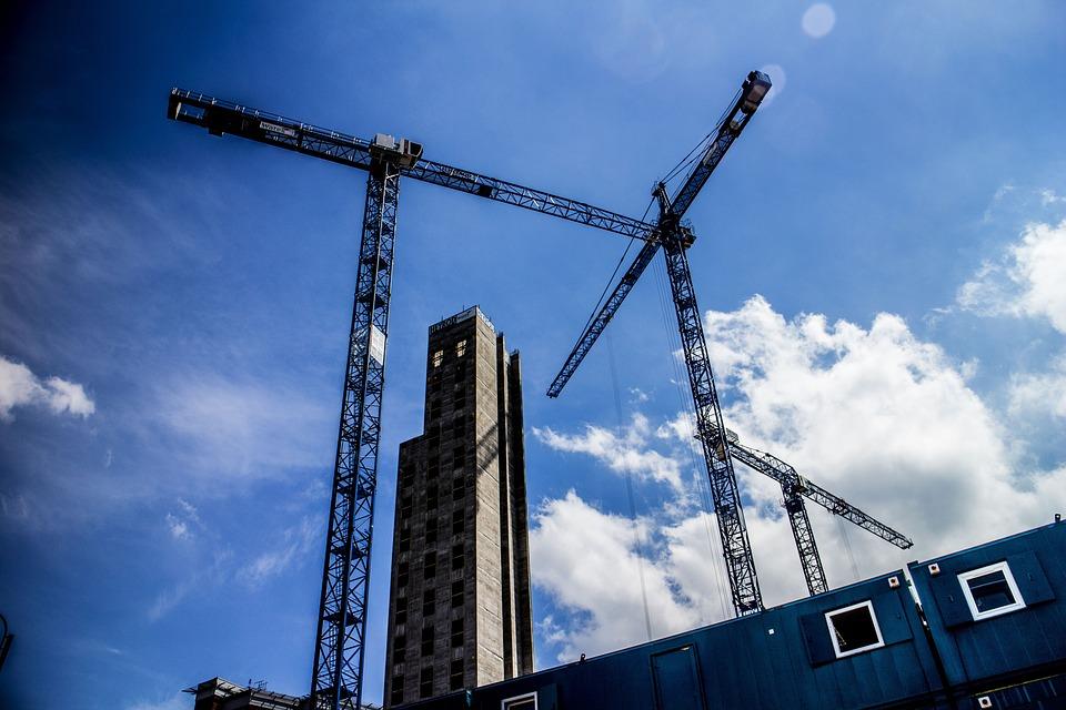 Building, Construction, Crane, Building Construction