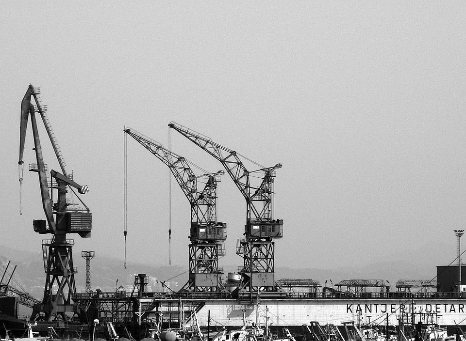 Cranes, Construction, Construction Site, Building