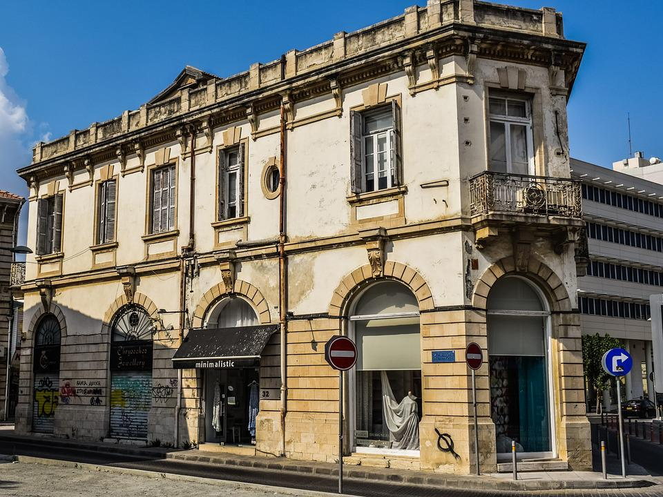 Cyprus, Limassol, Old Town, Building, Architecture