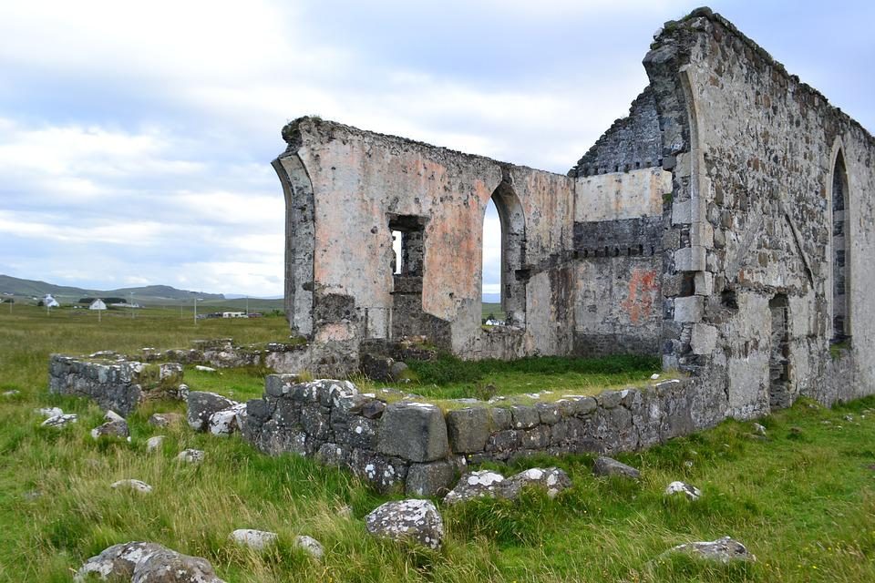 Abandoned, Ruin, Decay, Building, Architecture, Skye