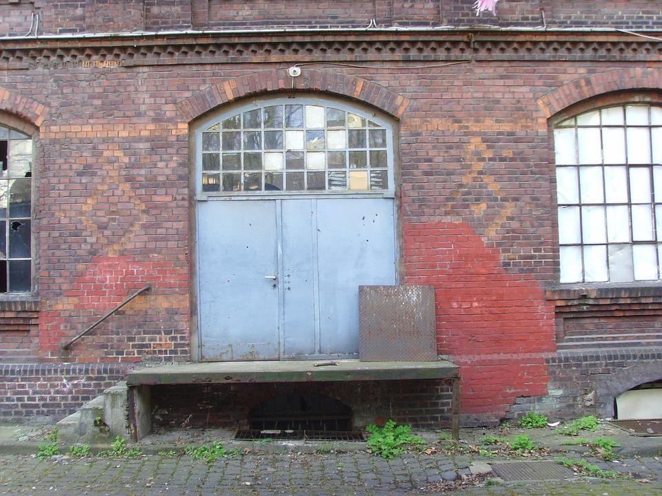 Building, Doorway, Architecture, Entrance, Industrial