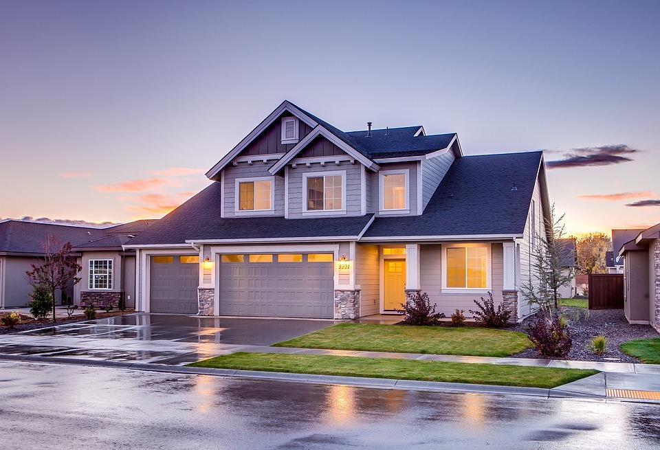House, Garage, Driveway, Architecture, Building