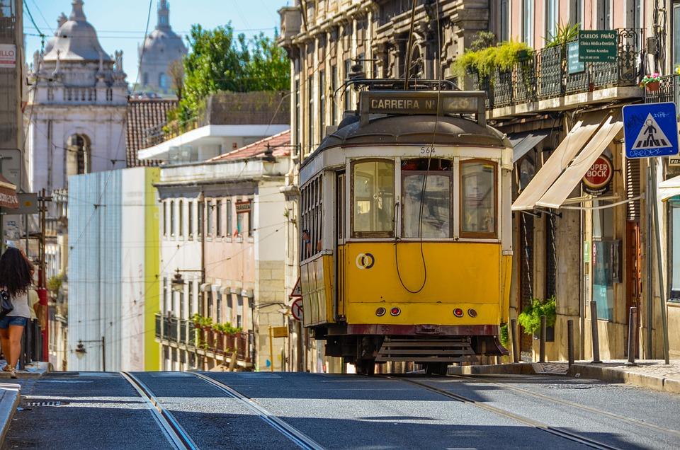 Lisboa, Elétrico, City, Tour, Architecture, Building