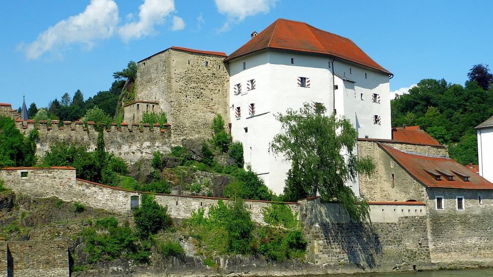 Castle, Passau, Architecture, Fortress, Building