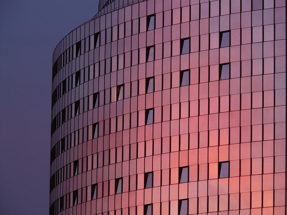 Maritime, Hotel, Building, Facade, Window, Glass