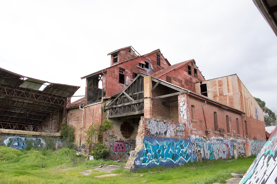Decay, Urban, Grunge, Old, Dirty, Building, City