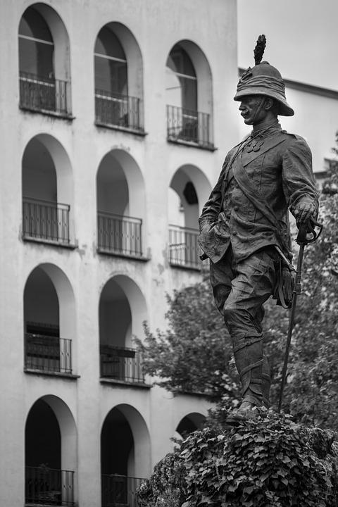 Architecture, Building, Statue, Hardness, Italy, Parma