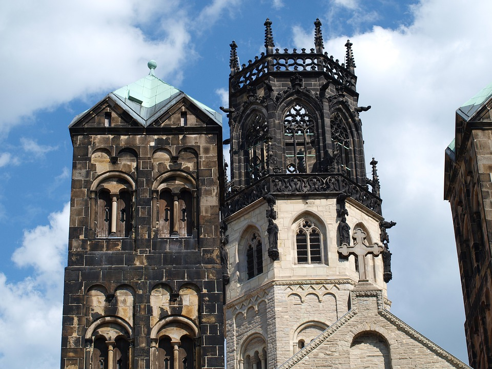 Cathedral, Münster, Dom, Architecture, Building, High