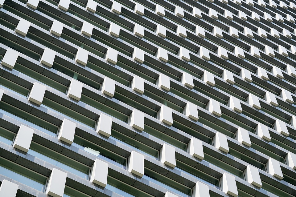 Architecture, Building, Facade, High-rise, Modern