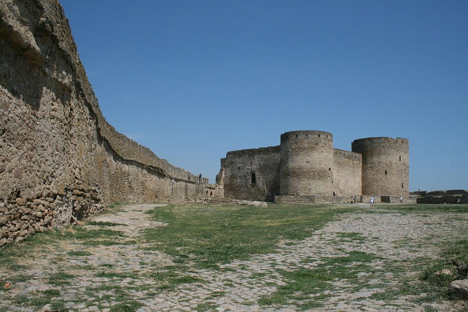 Fortress, Summer, Architecture, History, Building