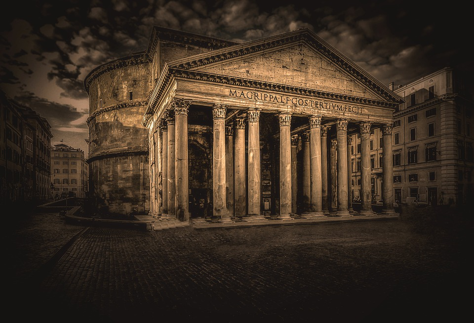 Pantheon, Rome, Italy, Architecture, History, Building