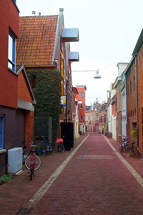 Groningen, Holland, Netherlands, City, Building, Europe