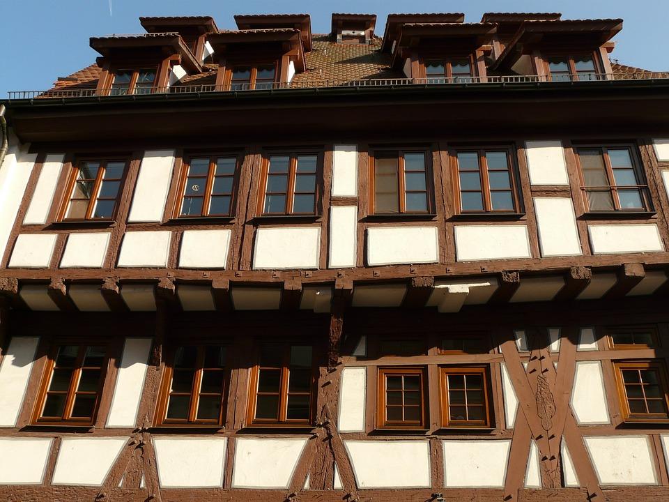 Truss, Fachwerkhaus, Bar, Wood, Home, Building, Facade