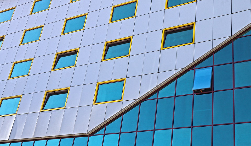 Architecture, Modern, Building, Glass, House, Texture