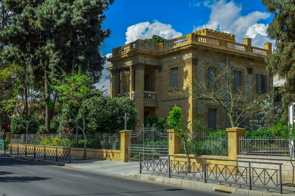 Architecture, Building, Neoclassic, Old, Travel, House
