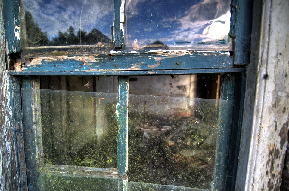 Abandoned, House, Window, Rot, Wood, Old, Building