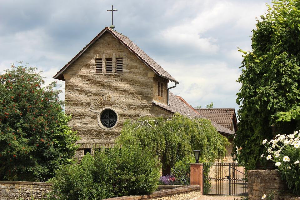Church, Building, Immesheim