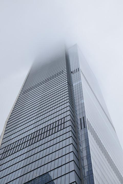 Skyscraper, Building, Modern, In New York City