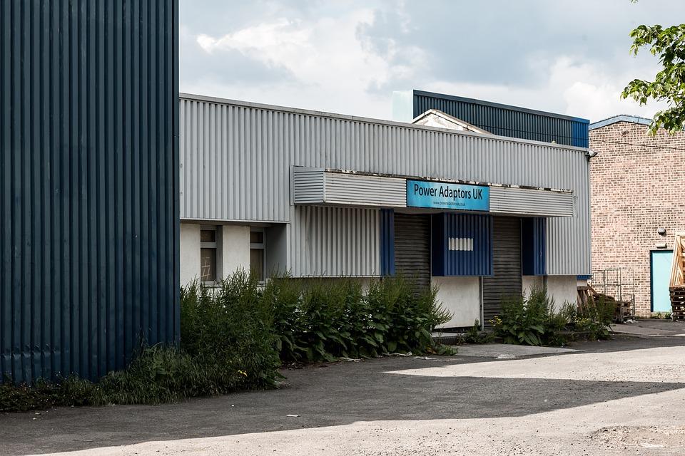 Warehouse, Building, Industry, Industrial, Storage