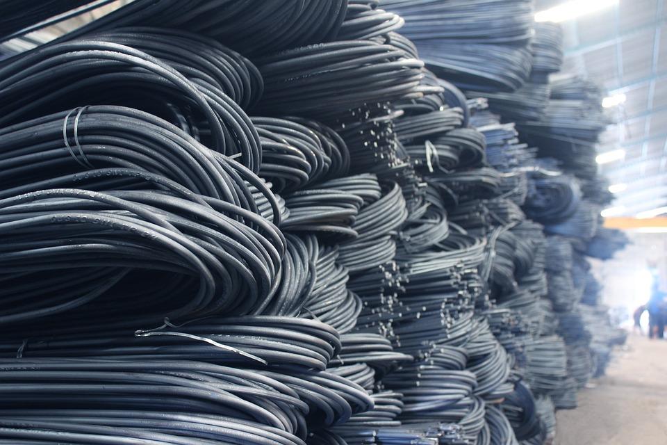 Steel, Warehouse, Metal, Building, Industrial