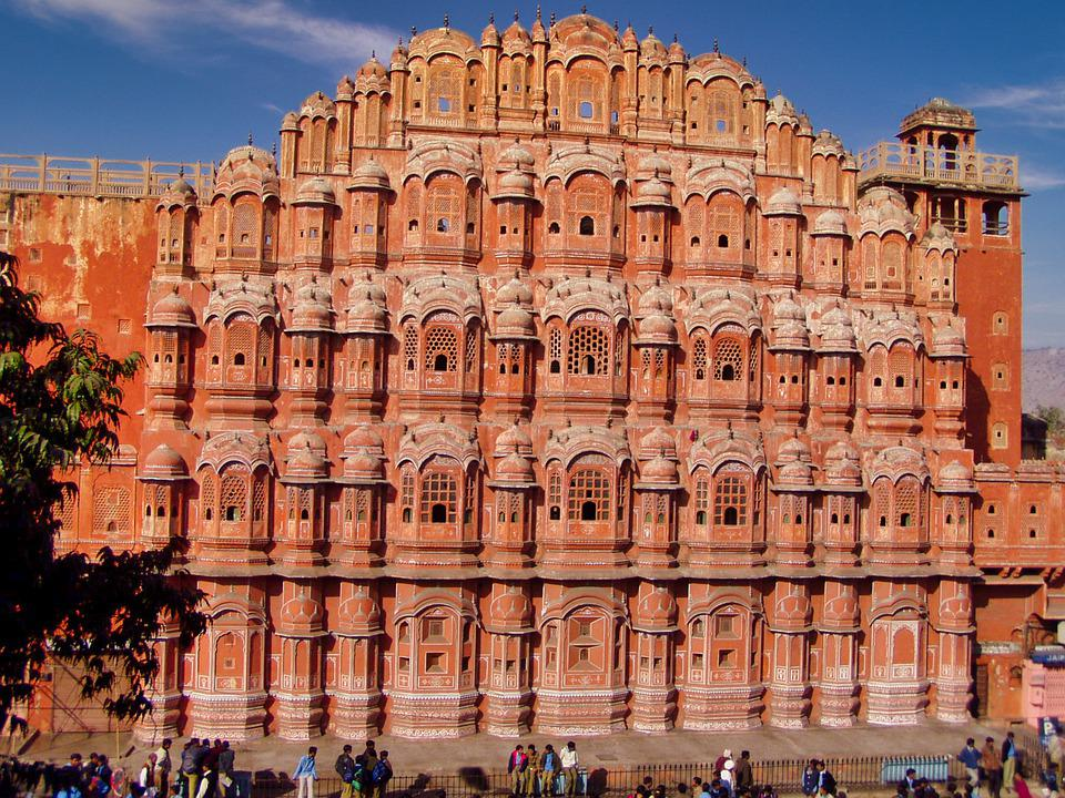 Hawa Mahal, Palace Of Winds, Building, Jaipur