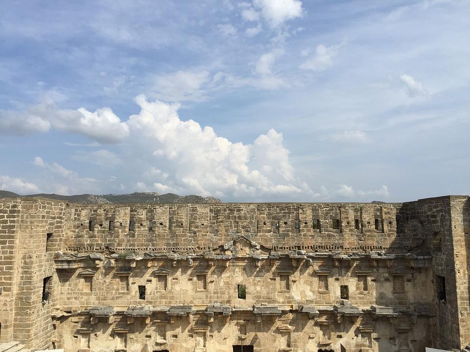 Pentos, Turkey, Asia Minor, Building, Klunky, Anatolia