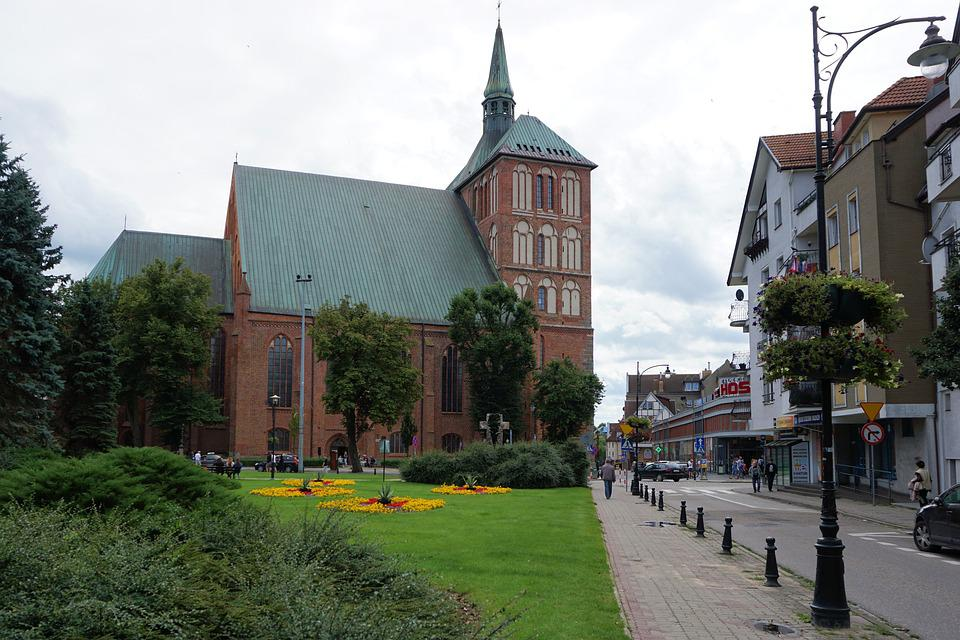 Kołobrzeg, Kolobrzeg Dom, Church, Building