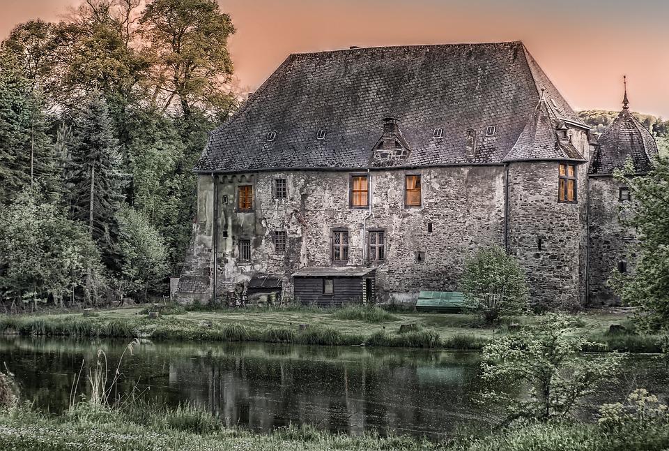 Architecture, Building, Castle, Old, Krayerhof