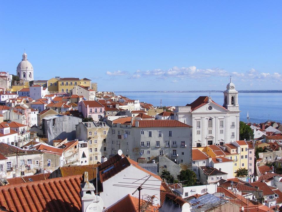 Lisbon, Portugal, Alfama, Building, Architecture