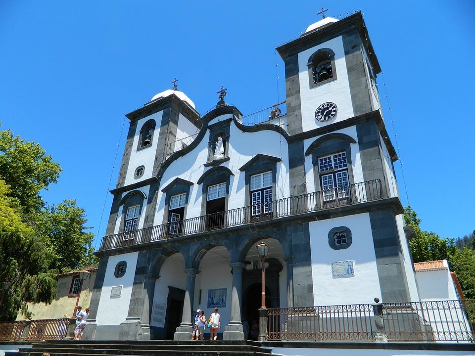 Church, Building, Madeira