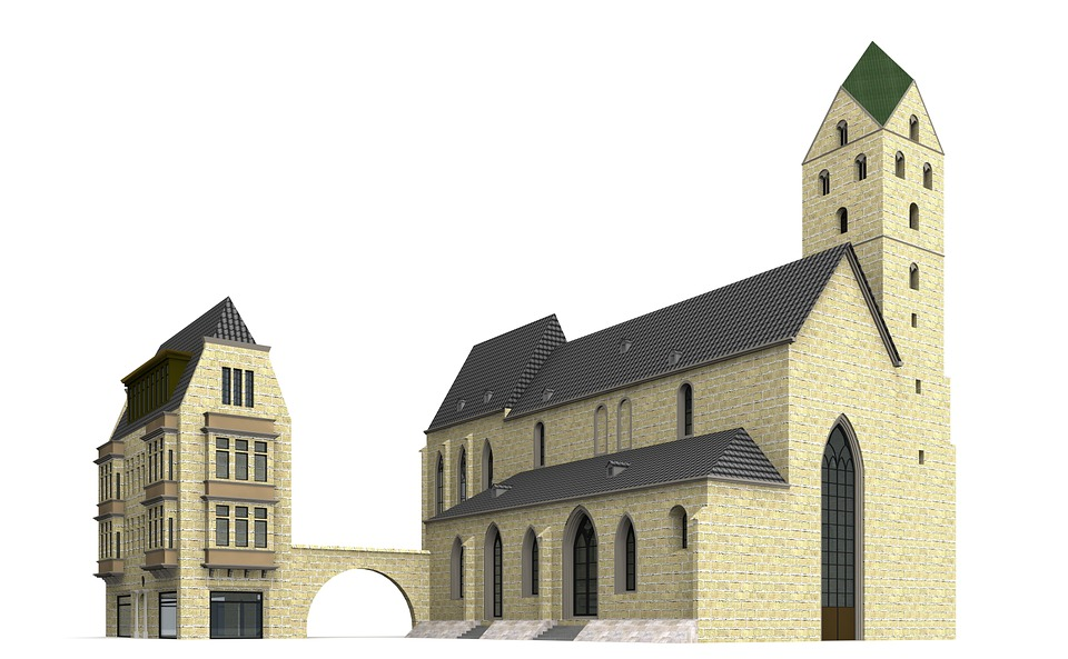 Marien, Church, Dortmund, Building, Places Of Interest