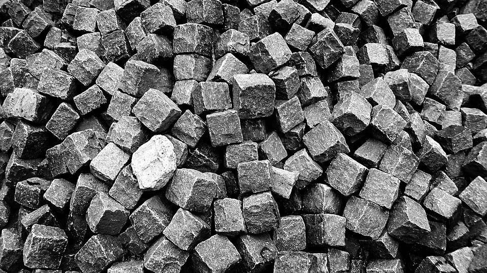 Brick, Stone, Blocks, Building Material, Construction