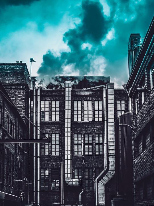 Building, Sky, Architecture, Urban, Modern, Buildings