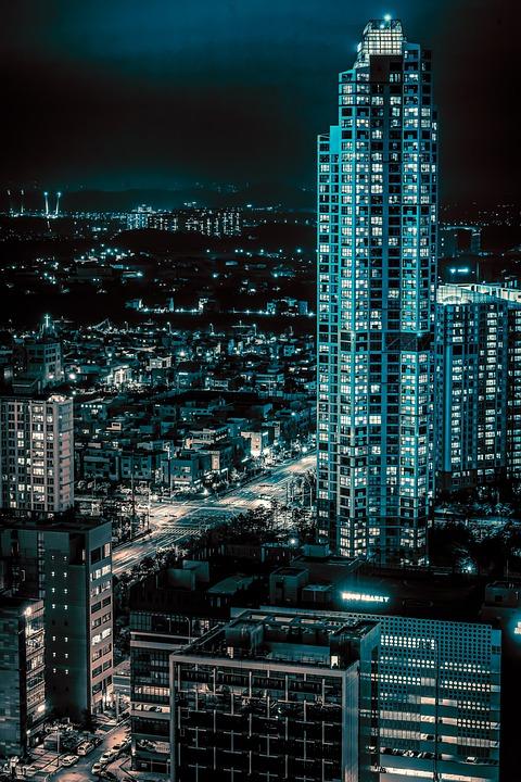 City, Building, Architecture, Modern, Facade, Skyline