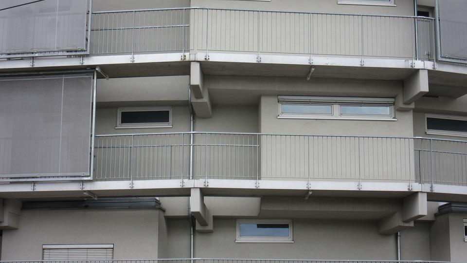 Facade, Home, Balconies, Architecture, Modern, Building