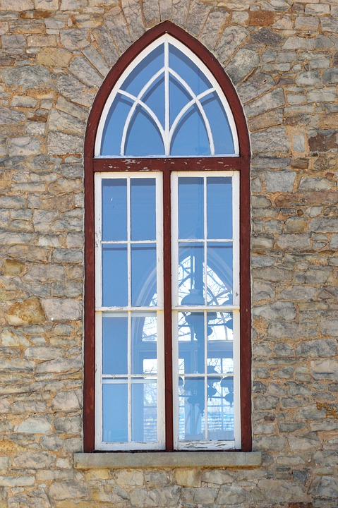 Window, Old Church, Architecture, Building, Landmark